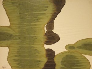 78WN 76 1978 pure watercolor pigment on rice paper  18 x 24 inches