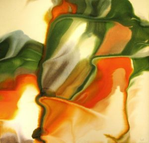 79WN 110  1979  pure watercolor pigment on paper  44 x 46 inches