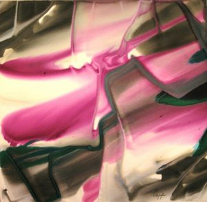 82WN 36  1982 pure watercolor pigment on paper  44 x 46 inches